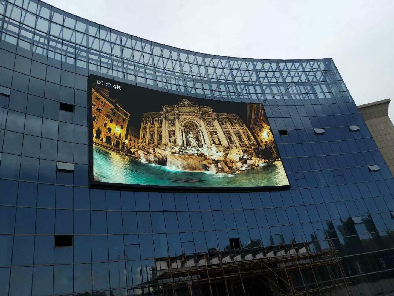 户外经典案例:长沙翡翠湖广场~户外P10表贴全彩230平方完美展示.jpg